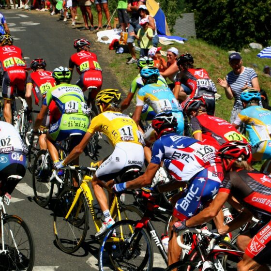 Over 21 Riders Injured in The First Stage of Tour de France