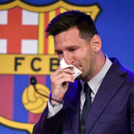Messi Leaves Barcelona After 17 Years (2004–2021)